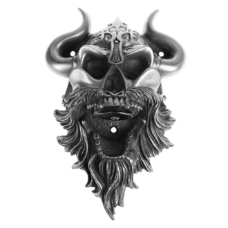 Sörnyitó (fali) Viking - Skull (Silver Finish) - BEER BUDDIES, BEER BUDDIES
