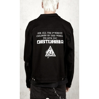 Unisex dzseki DISTURBIA - Denim, DISTURBIA