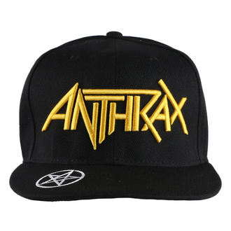 Anthrax sapka - Logo - ROCK OFF, ROCK OFF, Anthrax