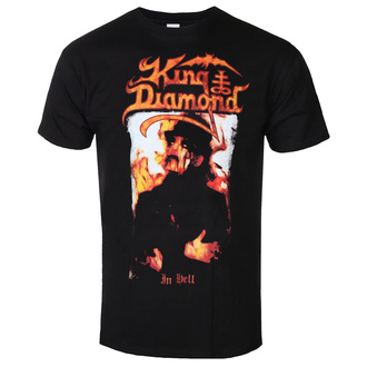 metál póló férfi King Diamond - IN HELL - PLASTIC HEAD, PLASTIC HEAD, King Diamond