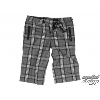rövidnadrág női VANS - Plaid Shorties - Carbon Plaid