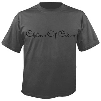 metál póló férfi Children of Bodom - Logo GREY - NUCLEAR BLAST, NUCLEAR BLAST, Children of Bodom