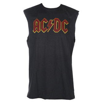 TOP unisex AC-DC - Logo - AMPLIFIED, AMPLIFIED, AC-DC
